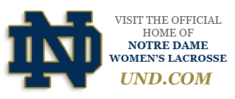 Official home of Notre Dame Women's Lacrosse